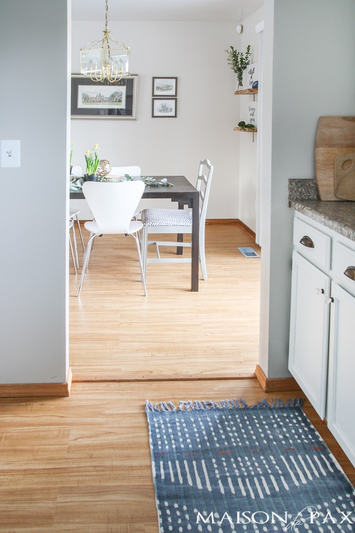 Vinyl Hardwood The Perfect Affordable Diy Flooring Maison De Pax