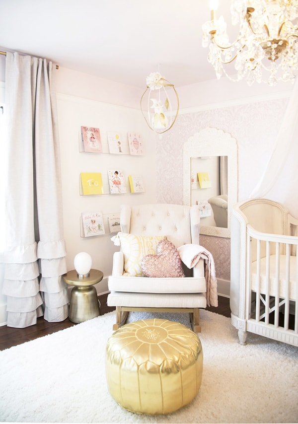 neutral and blush nursery- maison de pax