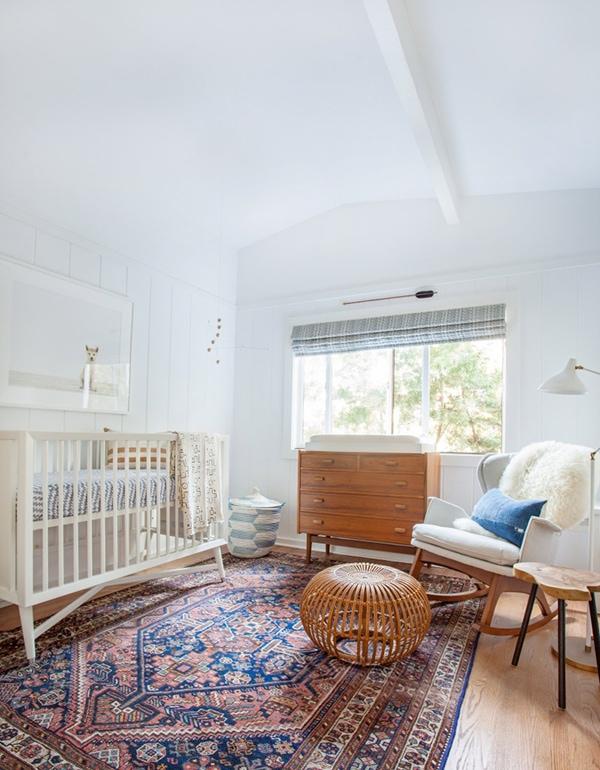 neutral mid century nursery- maison de pax