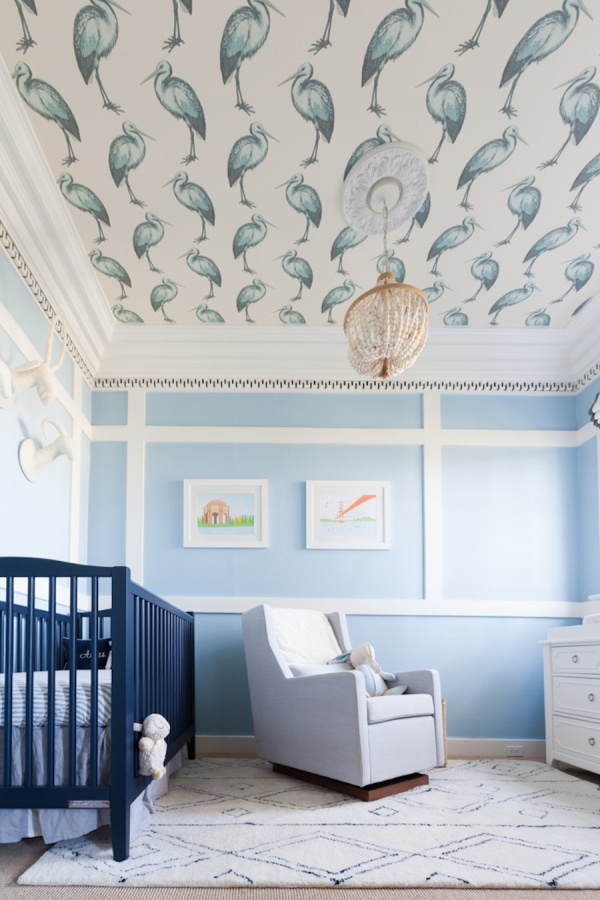 Blue and White Nursery- Maison de Pax