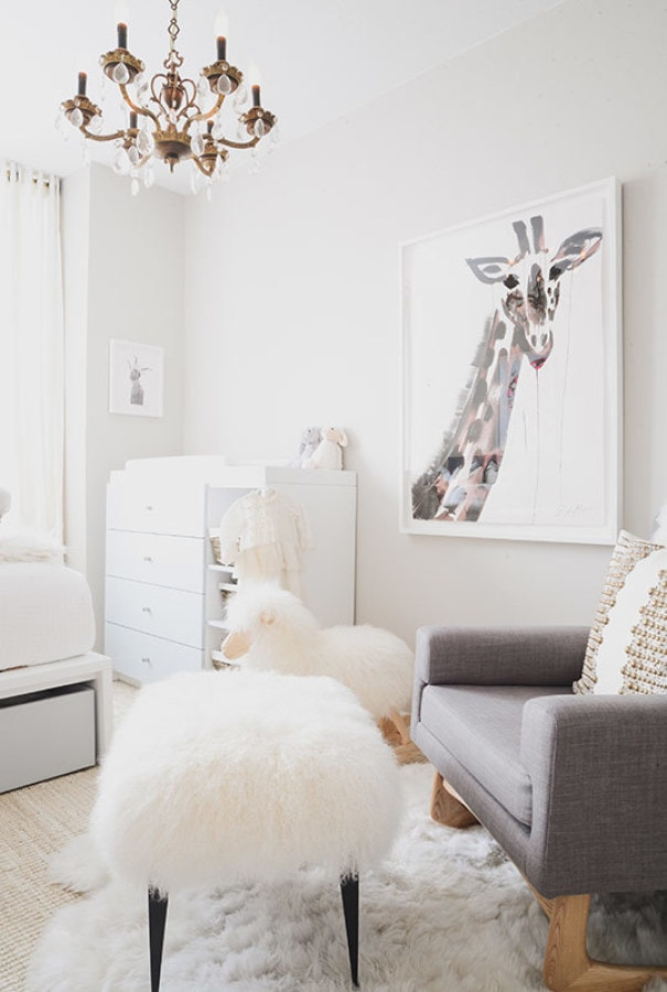 white nursery- Maison de Pax