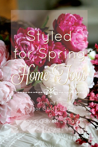 Looking for spring decorating inspiration? Don't miss the Styled for Spring home tours! 9 incredible homes full of spring decor ideas...