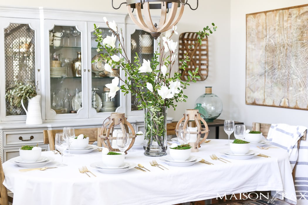 Easter Decorating Ideas- Maison de Pax
