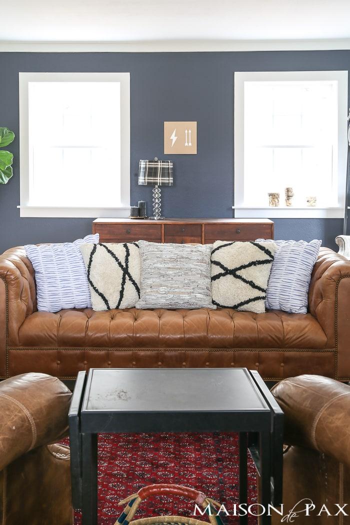 Modern Farmhouse Living Room- Maison de Pax