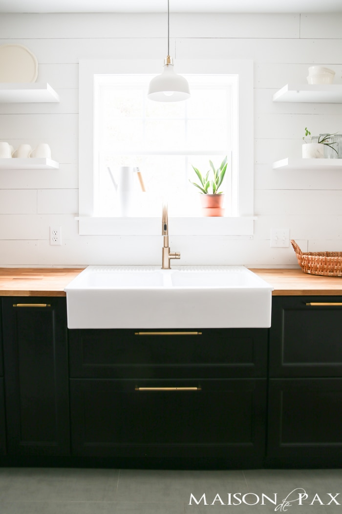 Apron farmhouse sink- Maison de Pax