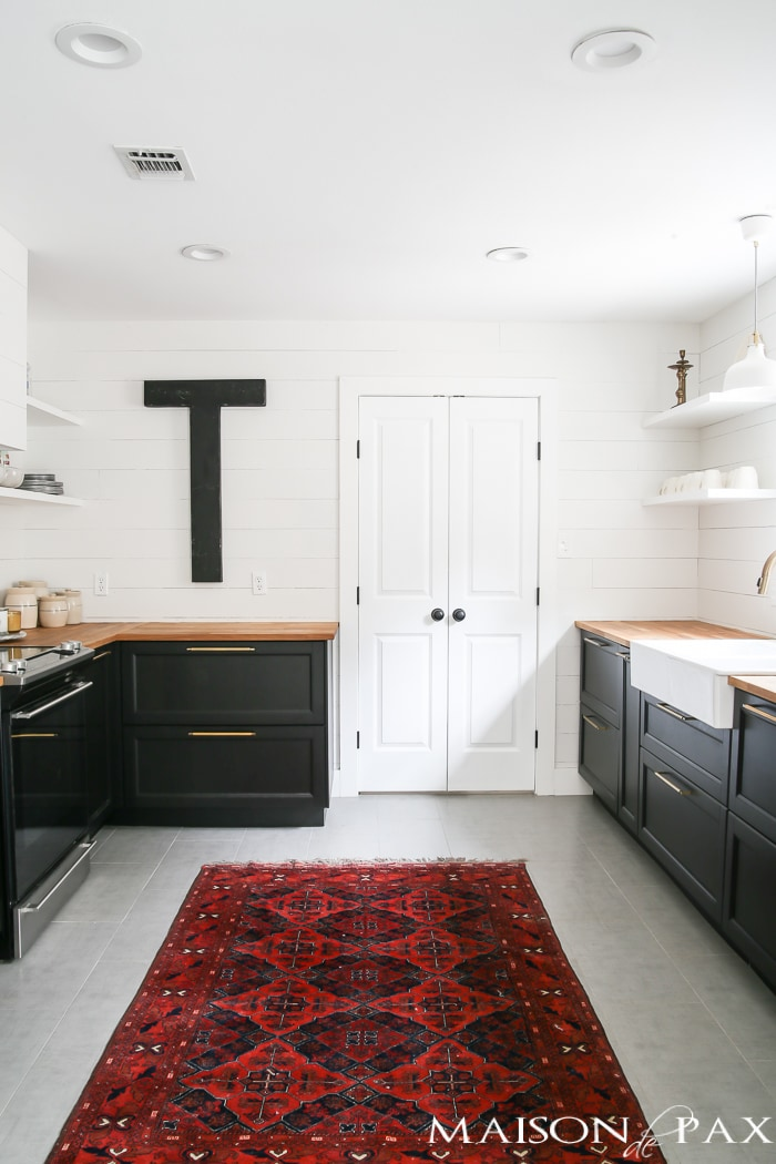 Affordable updates in modern farmhouse kitchen- Maison de Pax