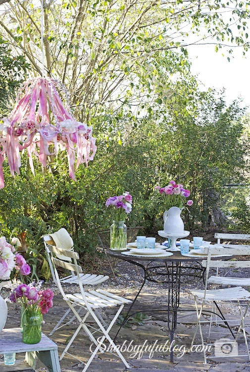 Patio Ideas from Shabbyfufu