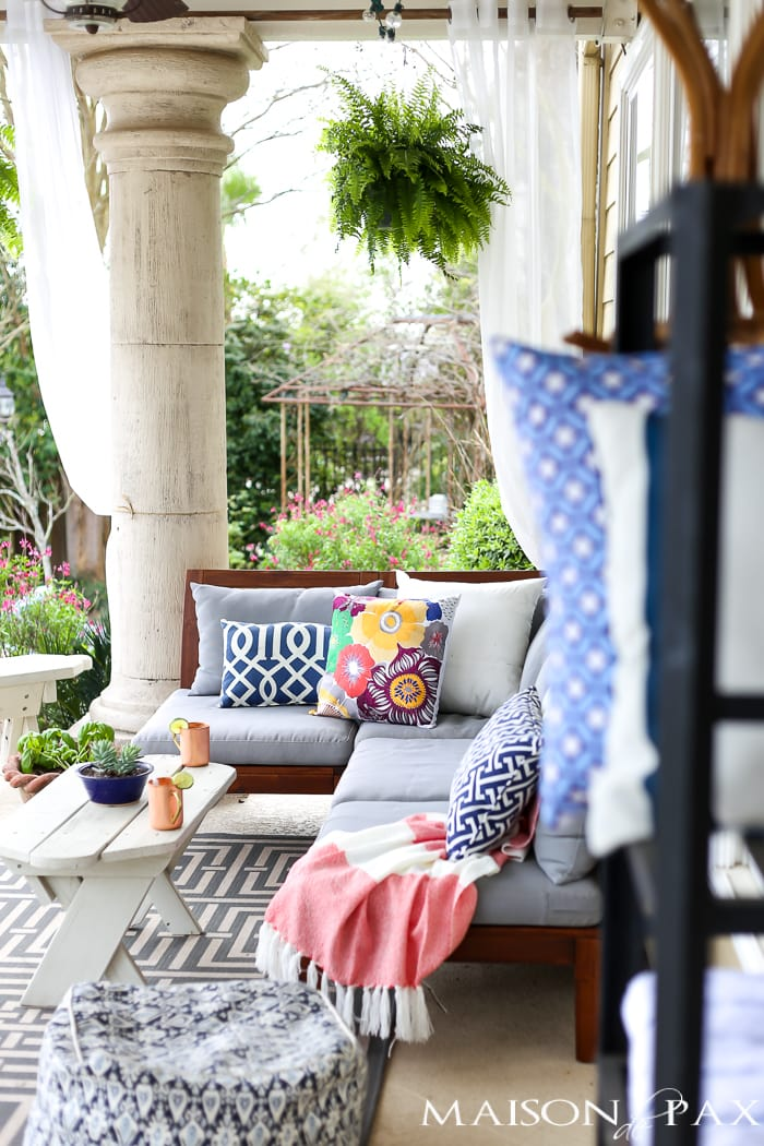 All my great ideas are really from pinterest spring porch for Terrace decoration ideas