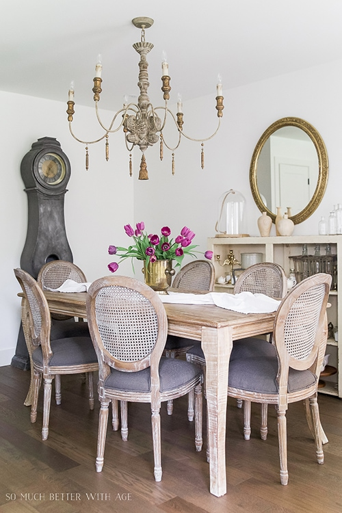 gorgeous french country dining room