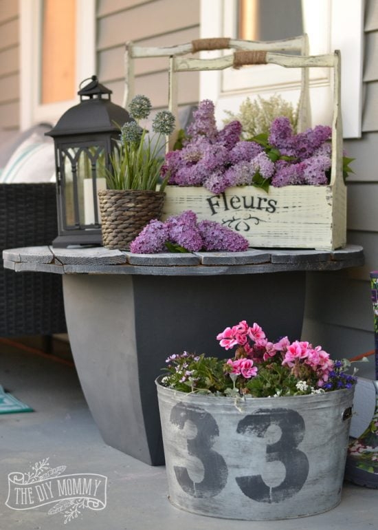 Hyacinth porch inspiration