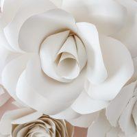 DIY Giant Paper Flowers Tutorial