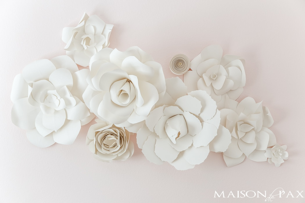 Diy giant paper flowers tutorial maison de pax diy paper flowers incredible learn how to make these gorgeous elegant giant mightylinksfo