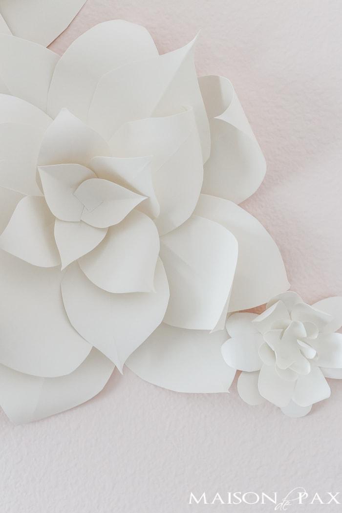 DIY paper flower- Maison de Pax