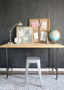 Rustic, Industrial Playroom Decorating Ideas
