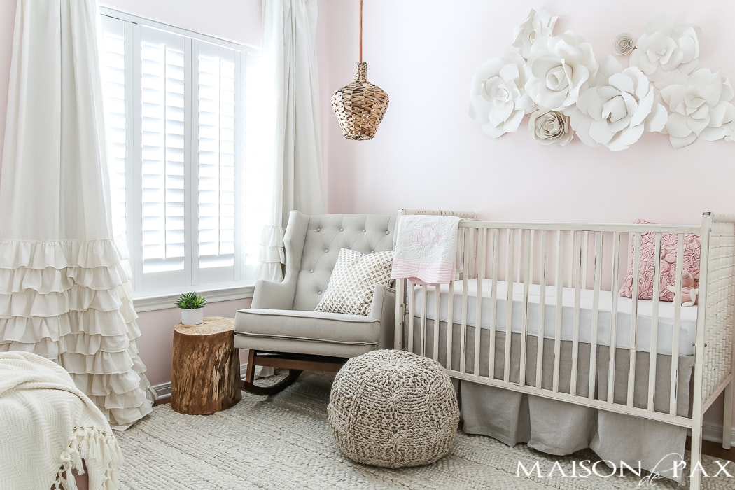 Soft girls nursery- Maison de Pax