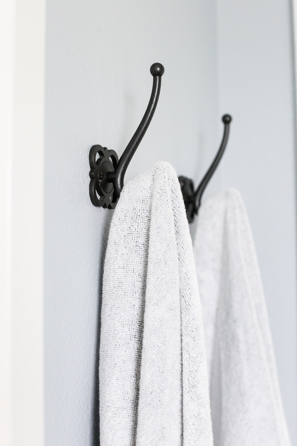 Towel hooks for master bathroom- Maison de Pax