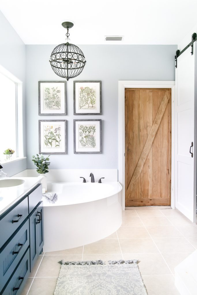 Rustic Master Bathroom Ideas: Industrial Rustic Master Bath Retreat