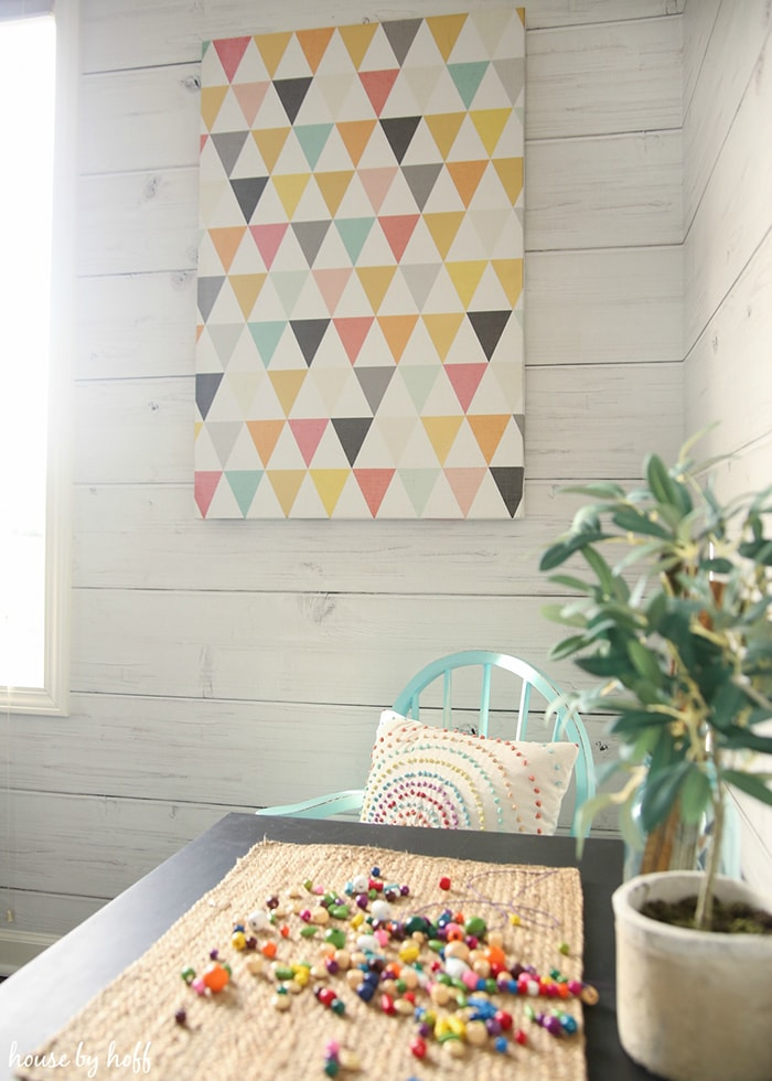 Cutest playroom ever! These playroom decorating ideas are amazing.