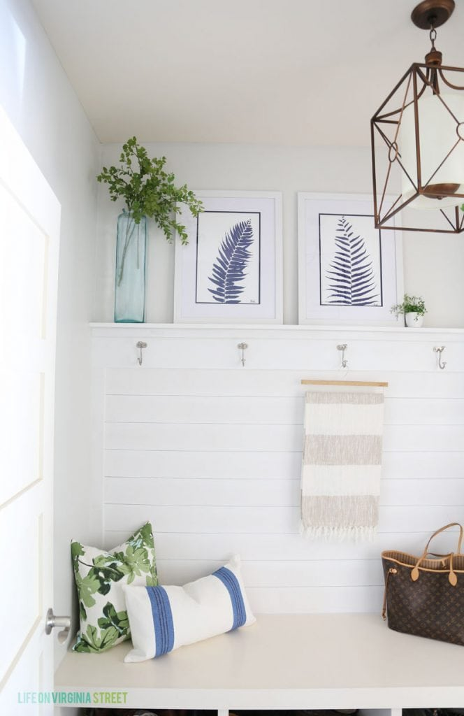 Mudroom entries and spaces
