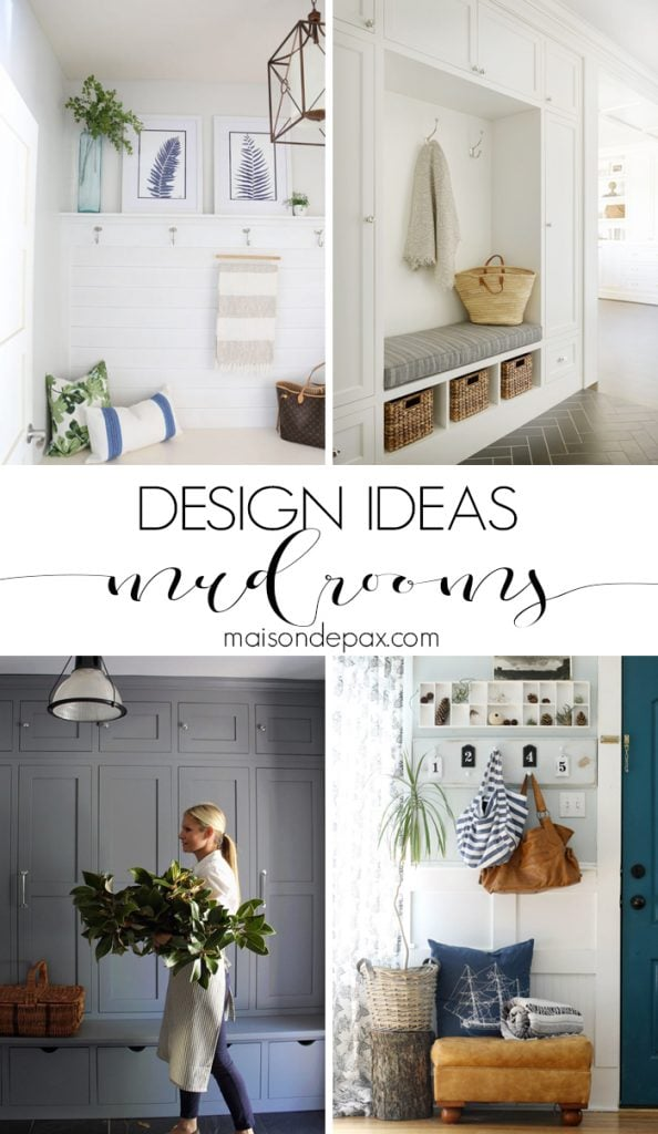 Mudroom Ideas For Small Es By Maison De Pax