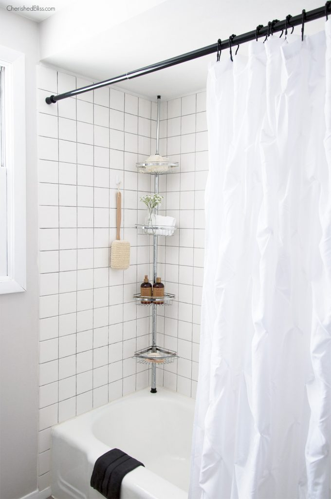 Update your shower tile... And other ideas on how to remodel your bathrooms on a budget!