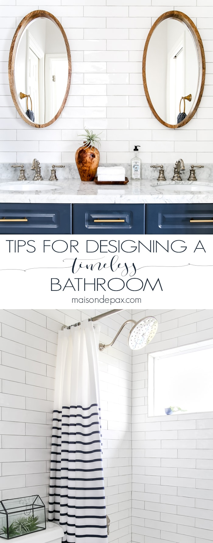 10 Tips for Designing a Bathroom with Trendy yet Timeless Appeal ...