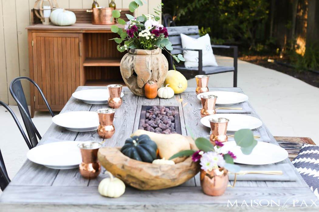 Remarkable Outdoor Thanksgiving Table And How To Decorate For Download Free Architecture Designs Sospemadebymaigaardcom