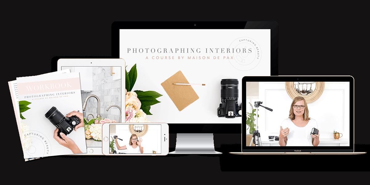 Photographing Interiors Course- Maison de Pax