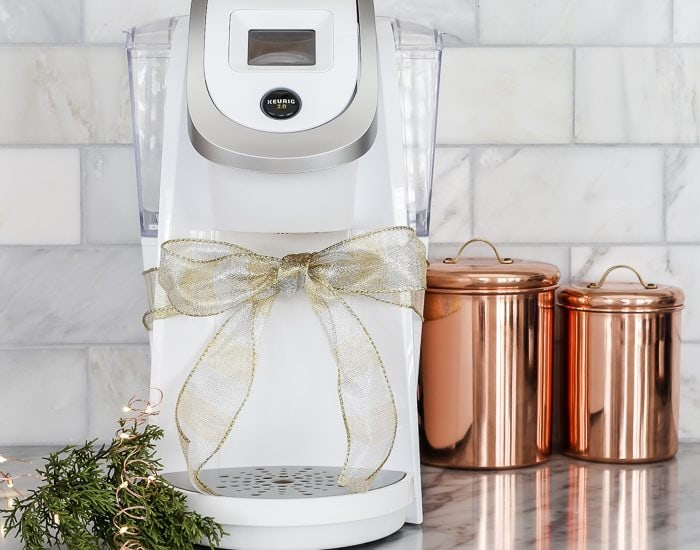 white keurig and other beautiful and useful Christmas gift ideas! #giftideas