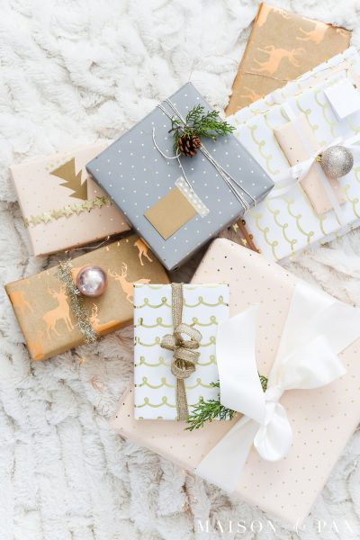 The Lazy Girl's Guide to Beautiful Gift Wrap Ideas