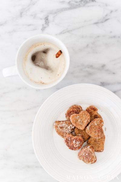 Heart French Toast Valentines Breakfast