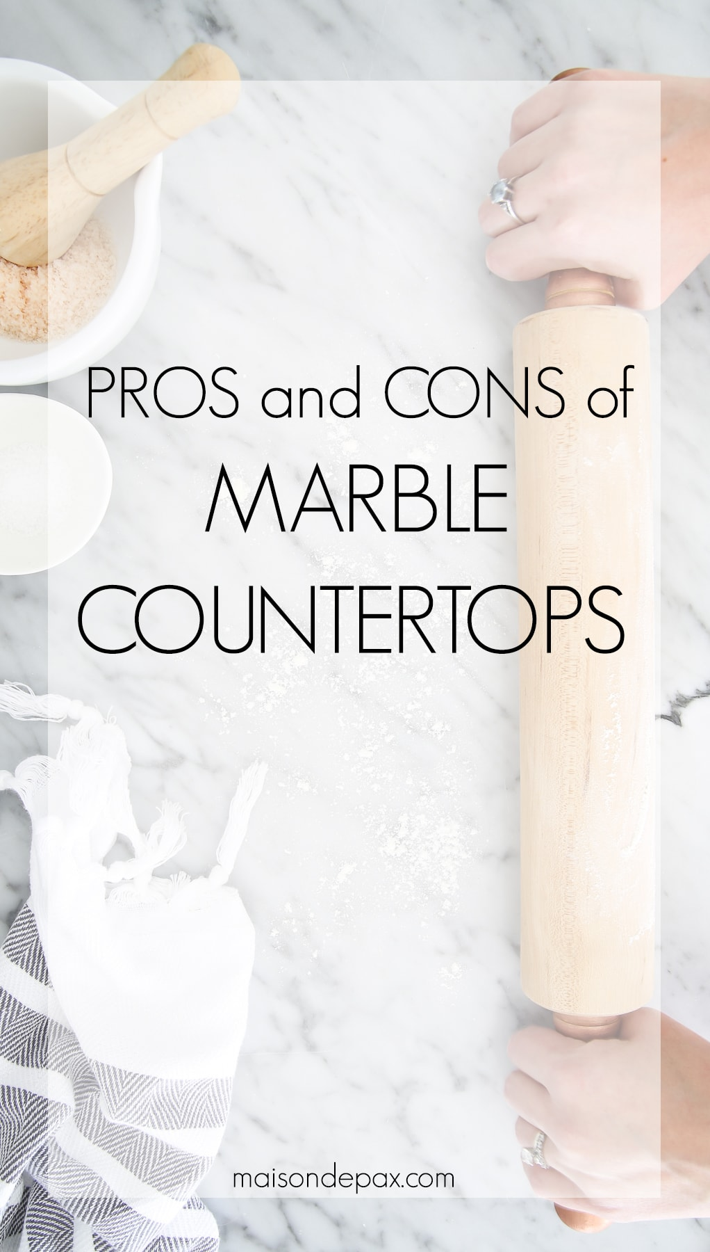 Pros and Cons of using marble countertops- Maison de Pax