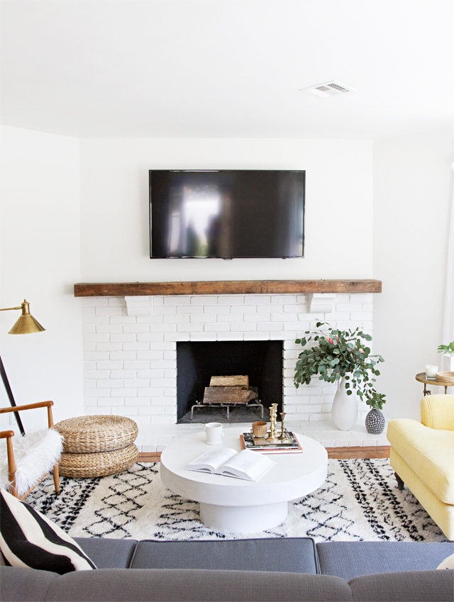 Modern Mantle Ideas- Maison de Pax