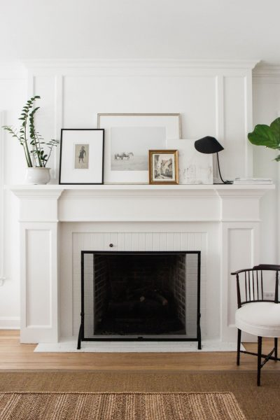 Fireplace Ideas: Mantel Styles for Today's Homes