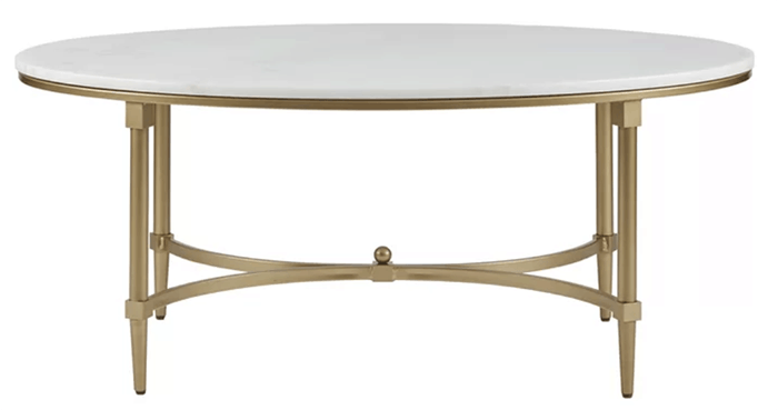 Marble Top Brass Coffee Table.Marble Top Coffee Tables Maison De Pax