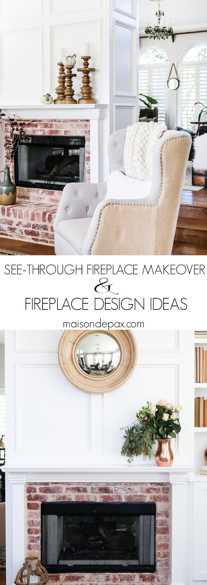 Fireplace Mantle Ideas- Maison de Pax