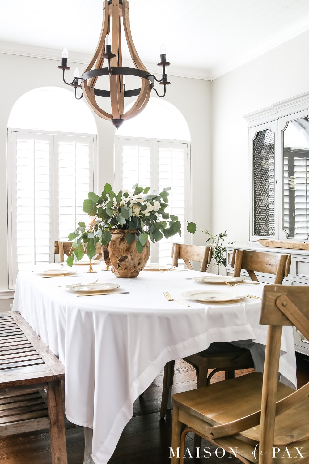 French Country Styled Dining room- Maison de Pax