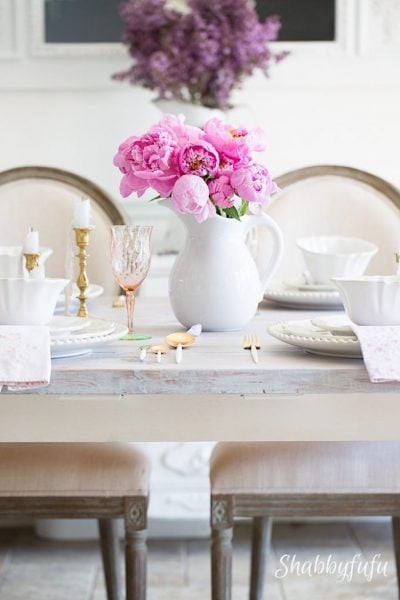 Simple spring touches and decorating ideas