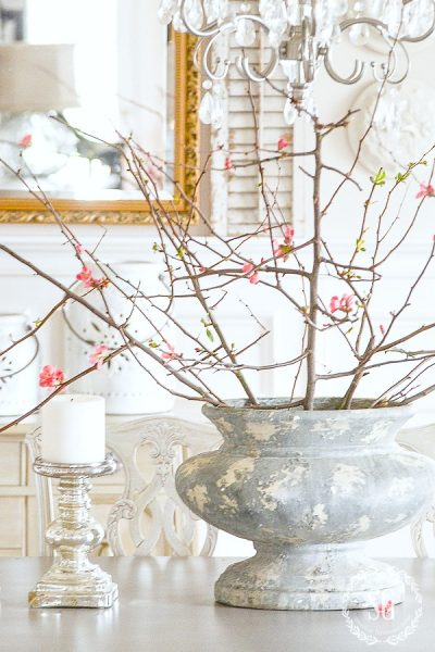 Looking for spring decorating inspiration? Get tips and ideas for decorating your home for spring from multiple designers! #springdecorating #springdecor #easterdecorating #springinspo #springdecoratinginspo #simplespringdecor #springdecoratingideas