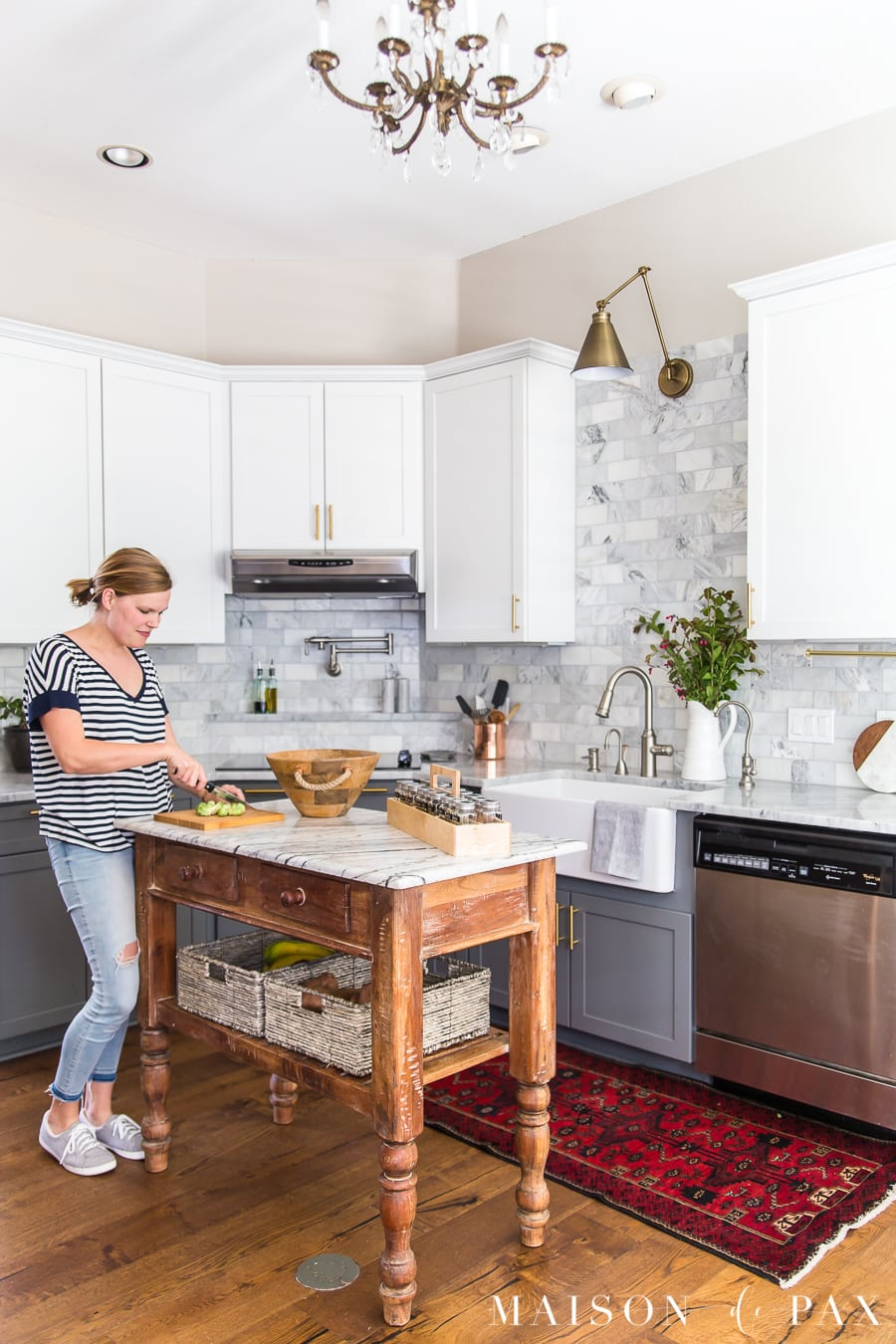 kitchen organizing ideas: follow these 5 tips for a really functional and beautiful kitchen! #kitchenorganization #organizing #kitchendesign