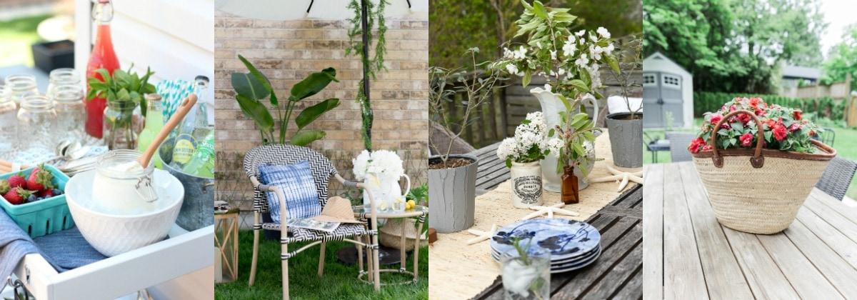 blogger summer decor series 1
