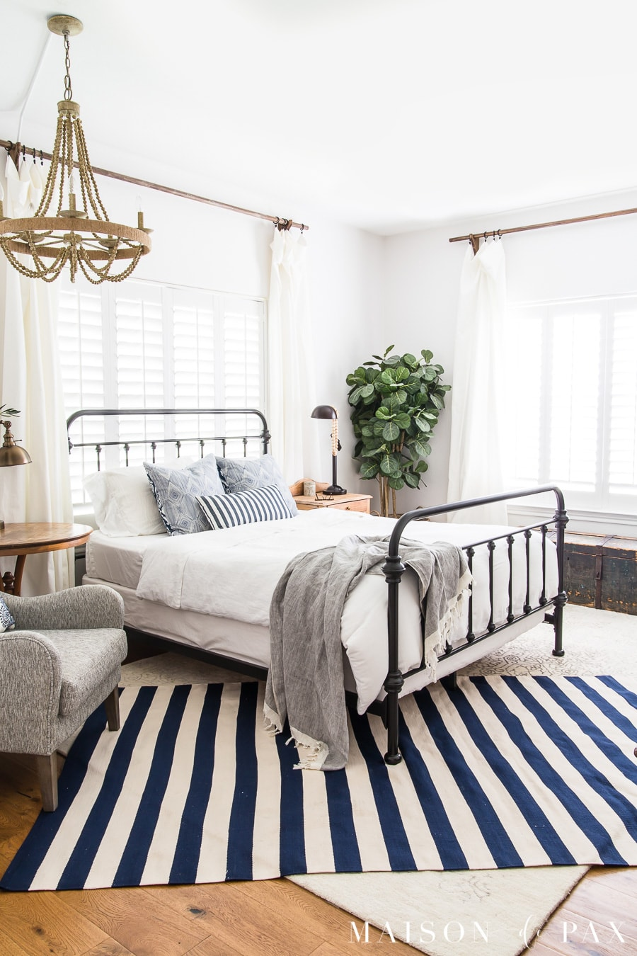 . Blue and White Bedroom Ideas for Summer   Maison de Pax
