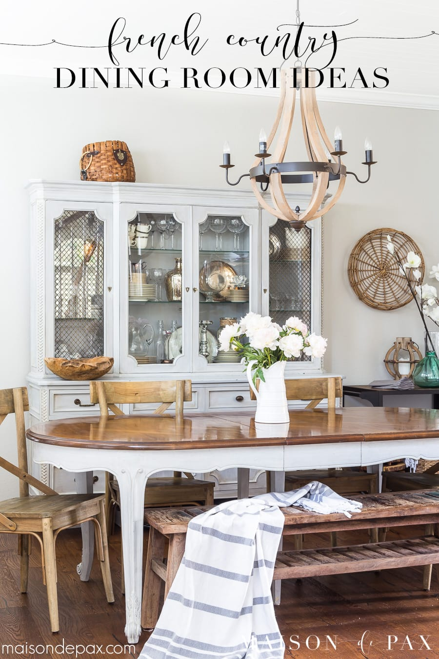 French Country dining room ideas- Maison de Pax