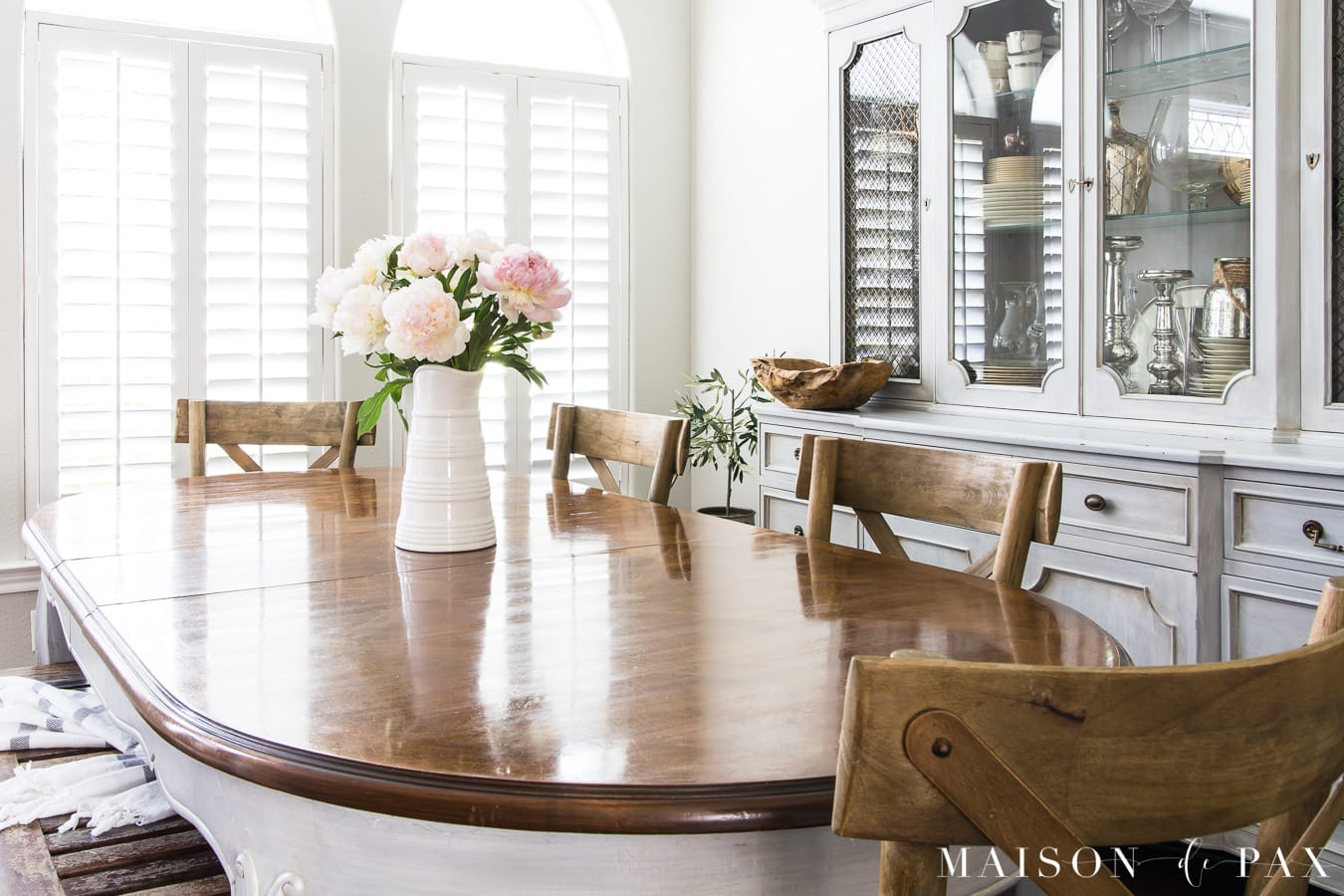 French country dining room- Maison de Pax