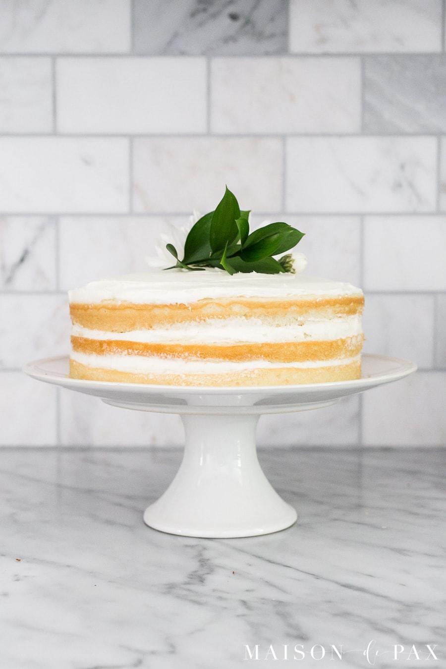 Naked Cake: Easy, beautiful dessert ideas - Maison de Pax
