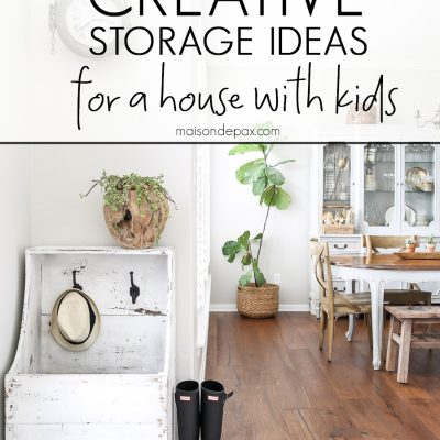 10 Kids Storage Ideas: Organizing tips for a house with kids