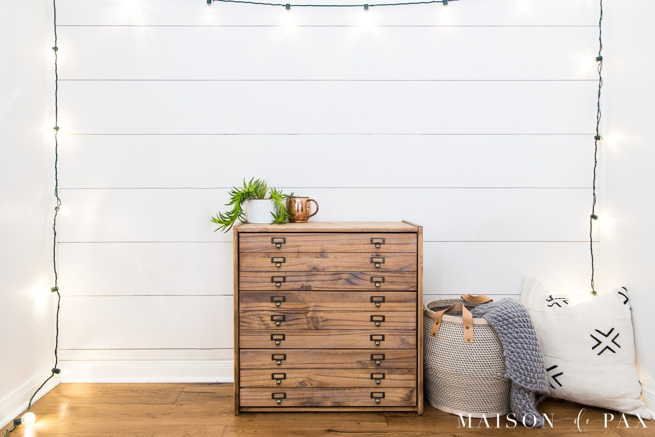 DIY IKEA Hack makeover with Rast Dresser- Maison de Pax