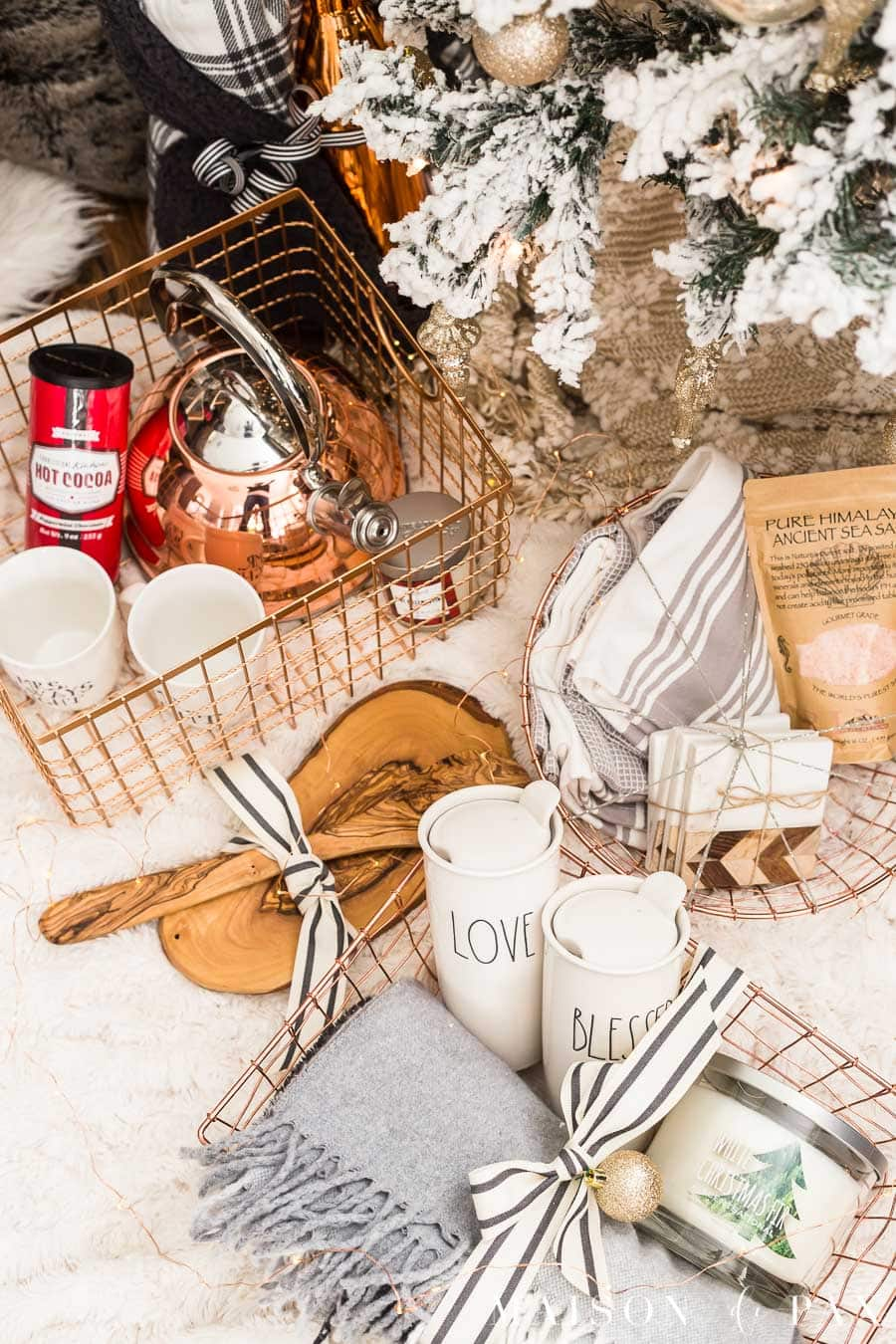 Easy Gift Basket Ideas For The Holidays Maison De Pax