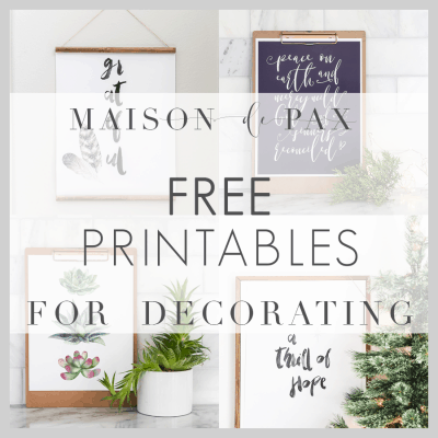 image relating to Free Printable Decor identified as Cost-free Printable Household Decor - Maison de Pax