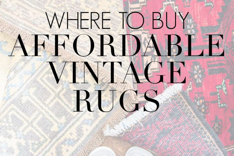 vintage rugs with overlay: where to buy affordable vintage rugs | Maison de Pax